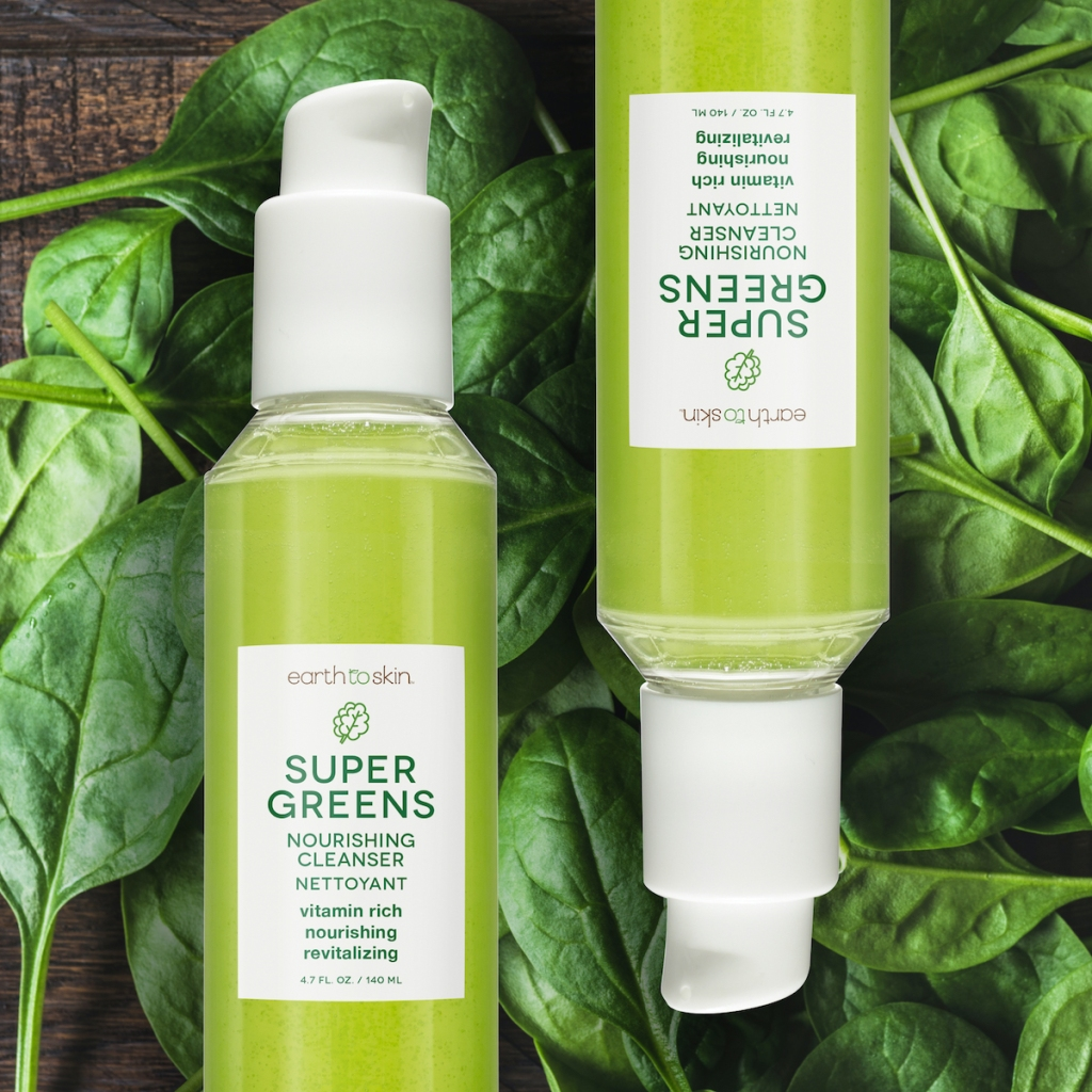 Earth to Skin Super Greens Nourishing Face Cleanser