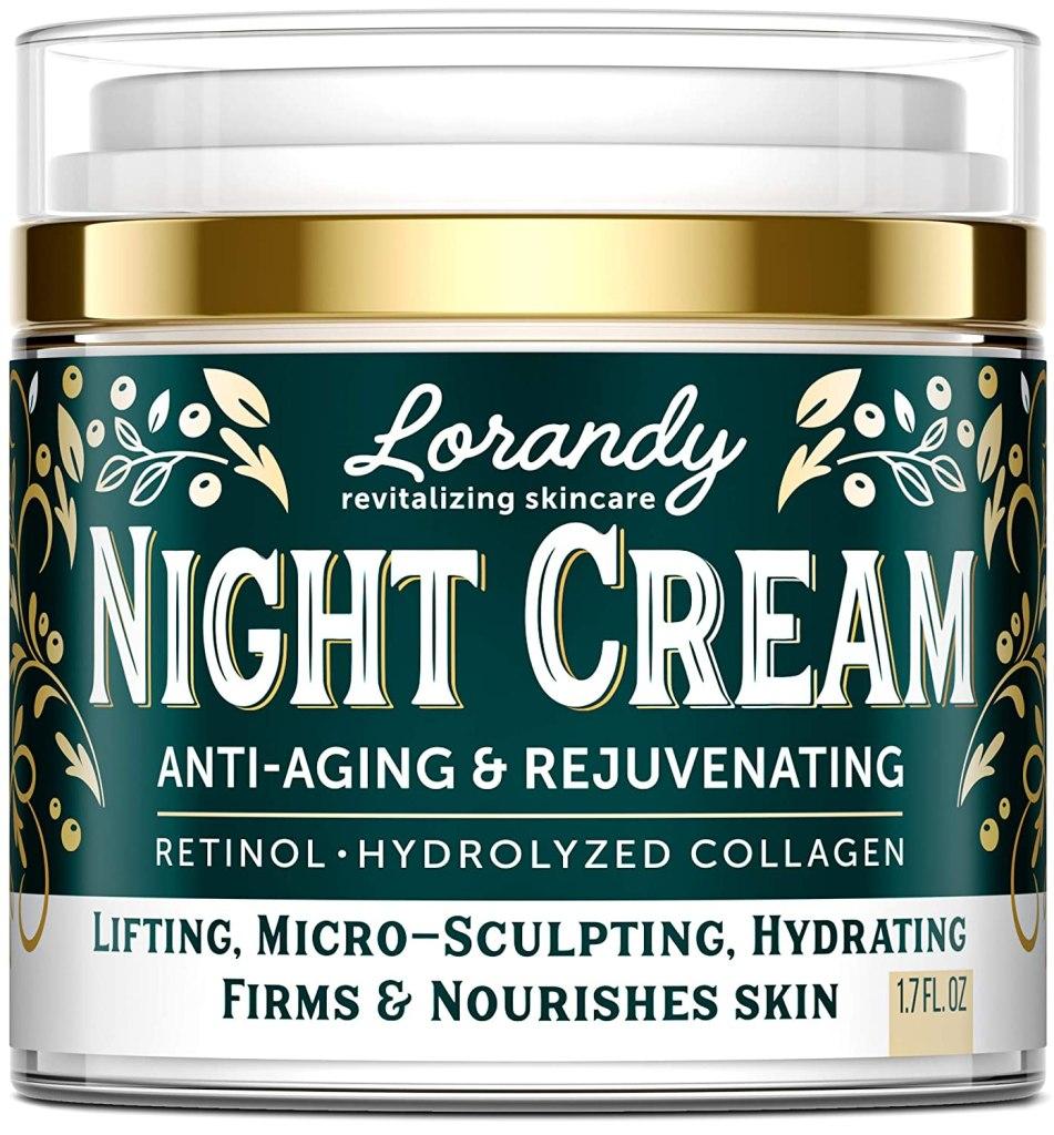 Lorandy Night Cream Anti-Aging & Rejuvenating