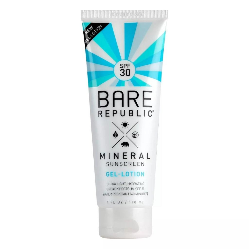 Bare Republic Mineral Gel Sunscreen Lotion