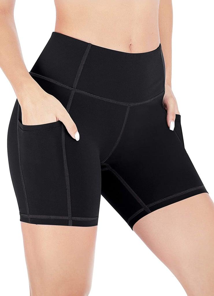 biker shorts baratos en amazon