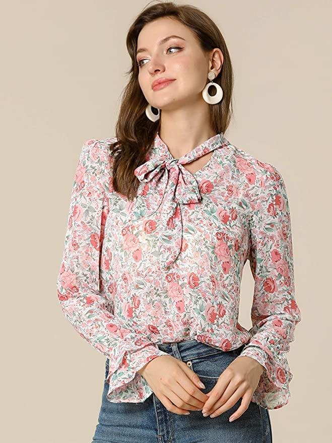 blusas bonitas y baratas amazon