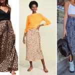 tips para combinar una falda con animal print