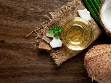 aceite de coco para cabello fuerte