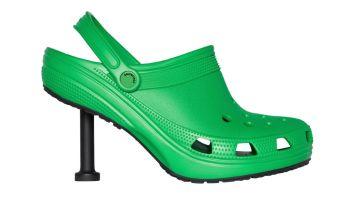 stiletto crocs balenciaga
