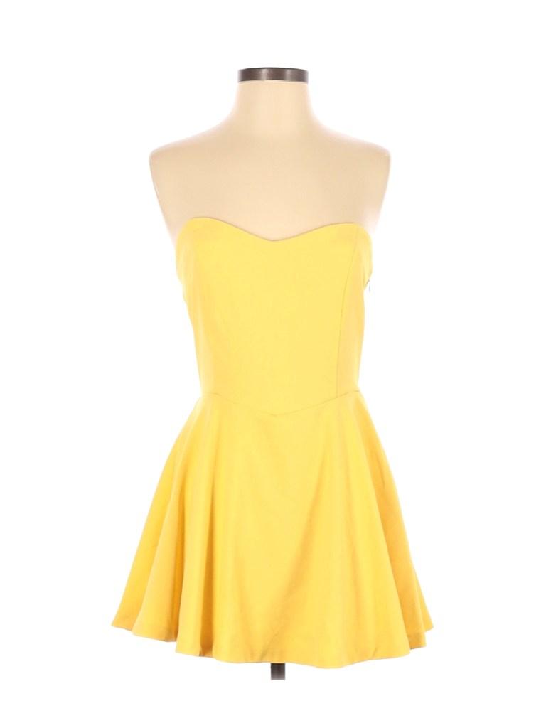yellow dress dua lipa