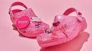 crocs benefit cosmetics