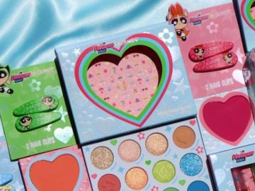 colourpop x powerpuff girls