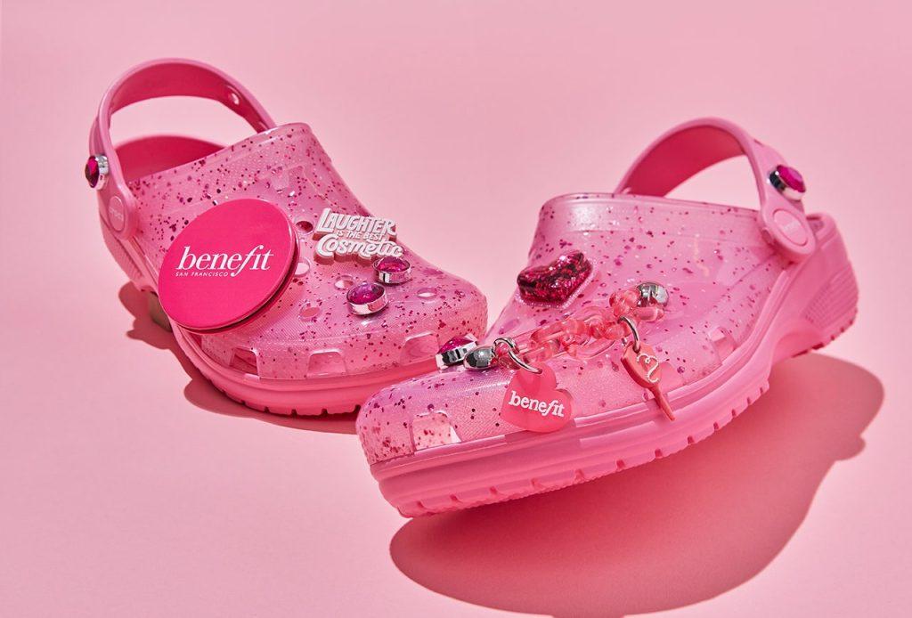 crocs x benefit cosmetics