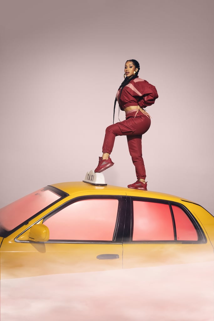 cardi b coleccion let me be in my world reebok