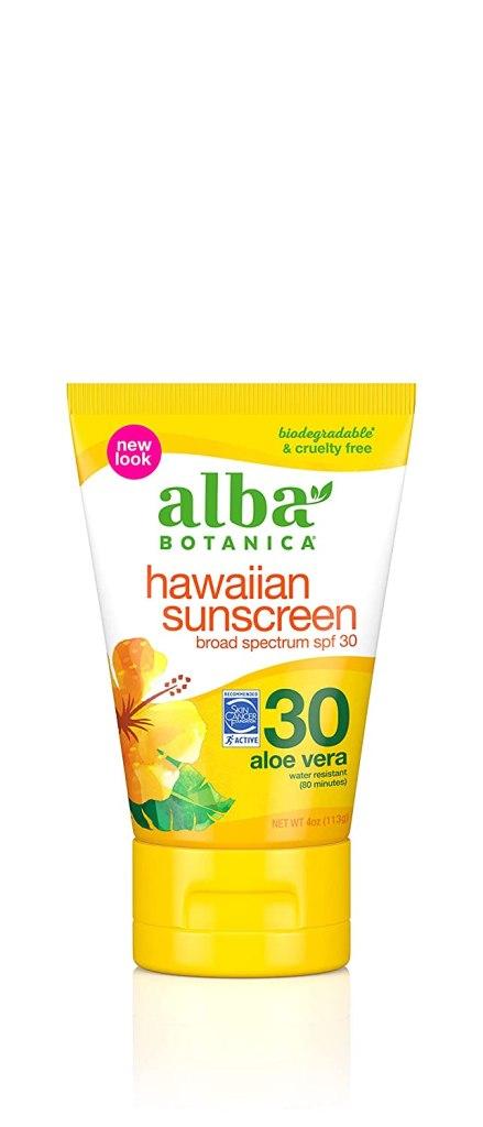 protector solar con aloe vera