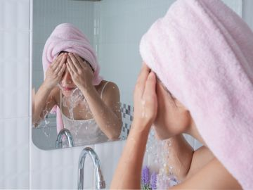 errores comunes al lavar la cara